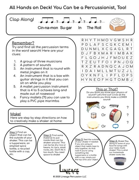 Worksheet PDF